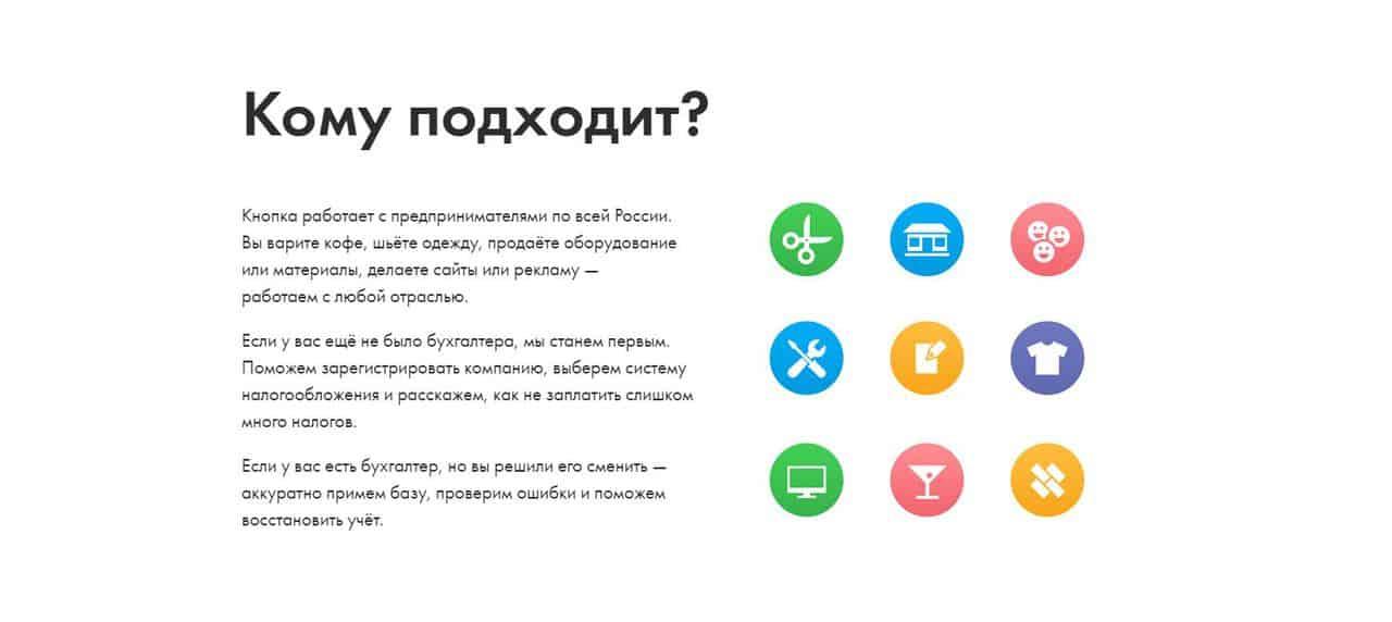 Лучшие сервисы по ведению онлайн-бухгалтерии для предпринимателей 2021 - Кнопка - фото