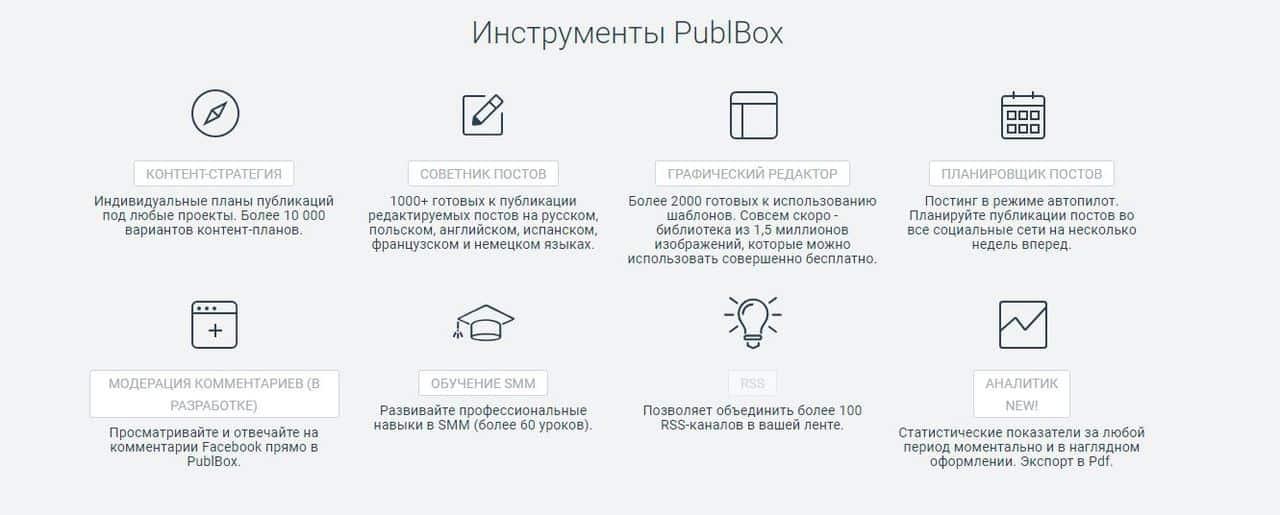 Обзор сервисов отложенного постинга в социальных сетях - PublBox - фото