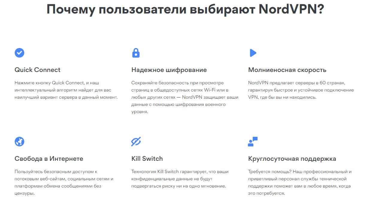 Топ лучших VPN-сервисов с платными и бесплатными тарифами - NordVPN - фото