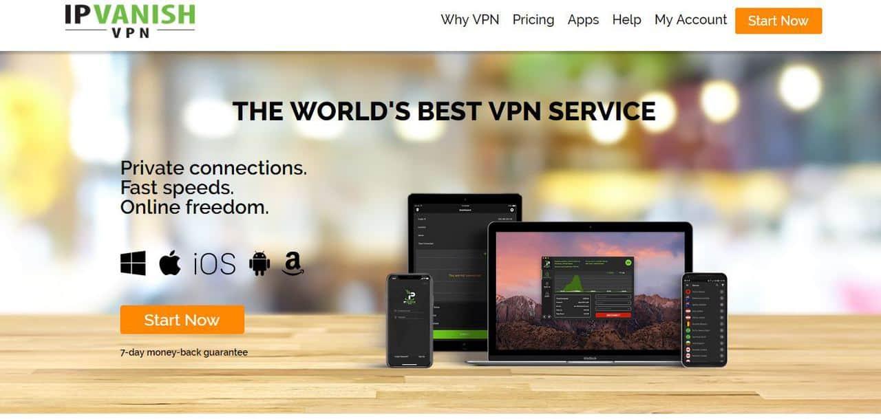 Топ лучших VPN-сервисов с платными и бесплатными тарифами - IPVanish - фото
