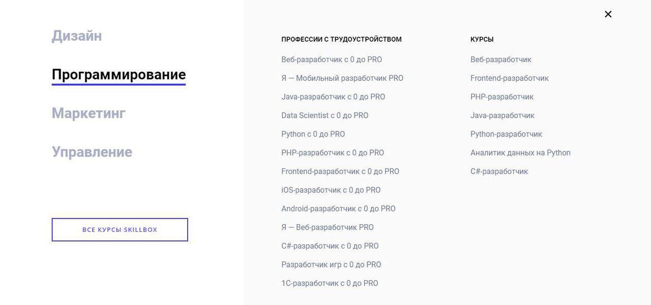 Лучшие онлайн-курсы для обучения программированию - Skillbox - фото