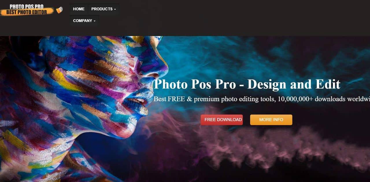 Бесплатные аналоги Фотошоп (Photoshop) в 2020. Лучшие растровые графические редакторы онлайн. - Photo Pos Pro - фото