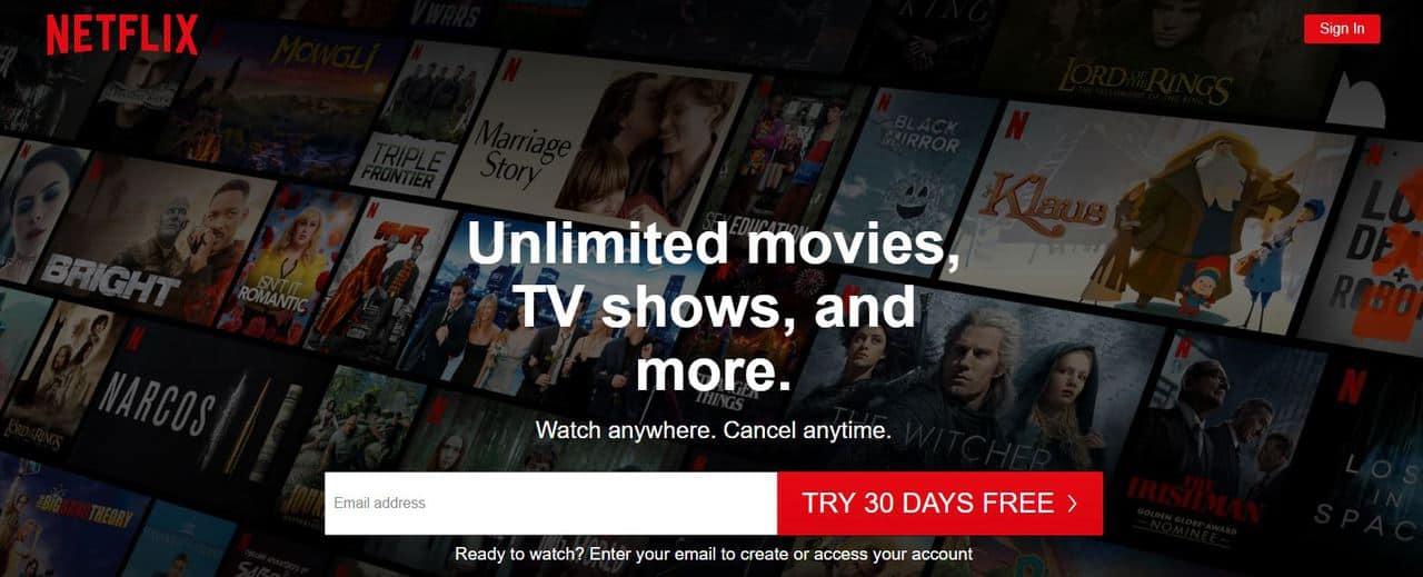 Топ-12 лучших сайтов для просмотра фильмов и сериалов легально 2021 - Netflix - фото