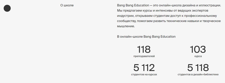 Онлайн-школа Bang Bang Education. Бесплатные курсы, обучение дизайн